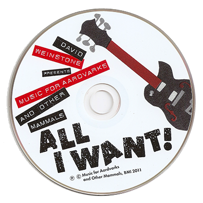 All I Want! CD